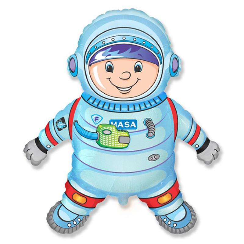 Шар фигурный Flexmetal Космонавт 901716
