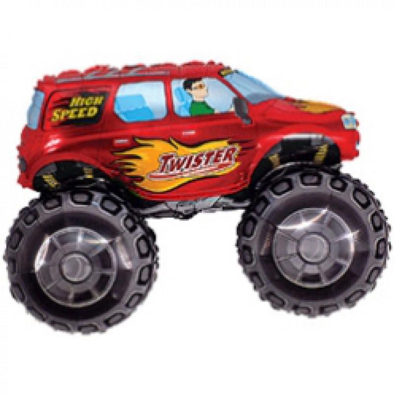Шар мини-фигура Flexmetal машина Баги красный