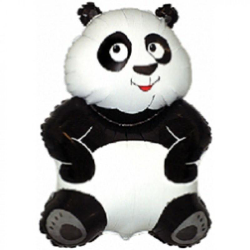 Шар мини-фигура Flexmetal панда сидит