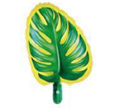 Пальмовый лист желто-зеленый Пленка