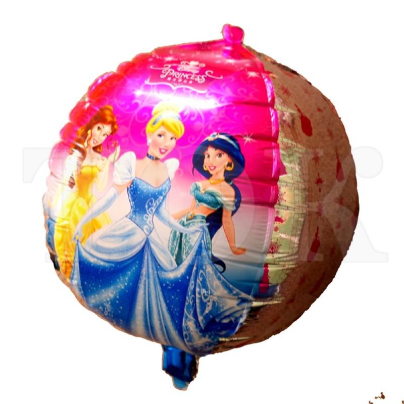 Кубик Принцессы Фигура Фольга