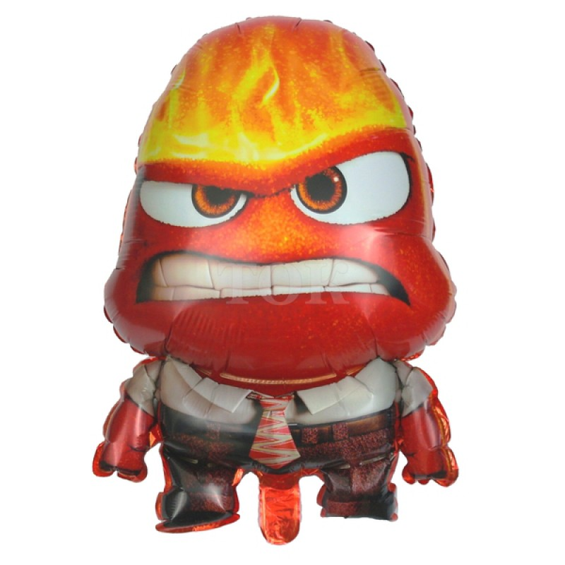 Гнев из мультфильма Головоломка Фигура Фольга
