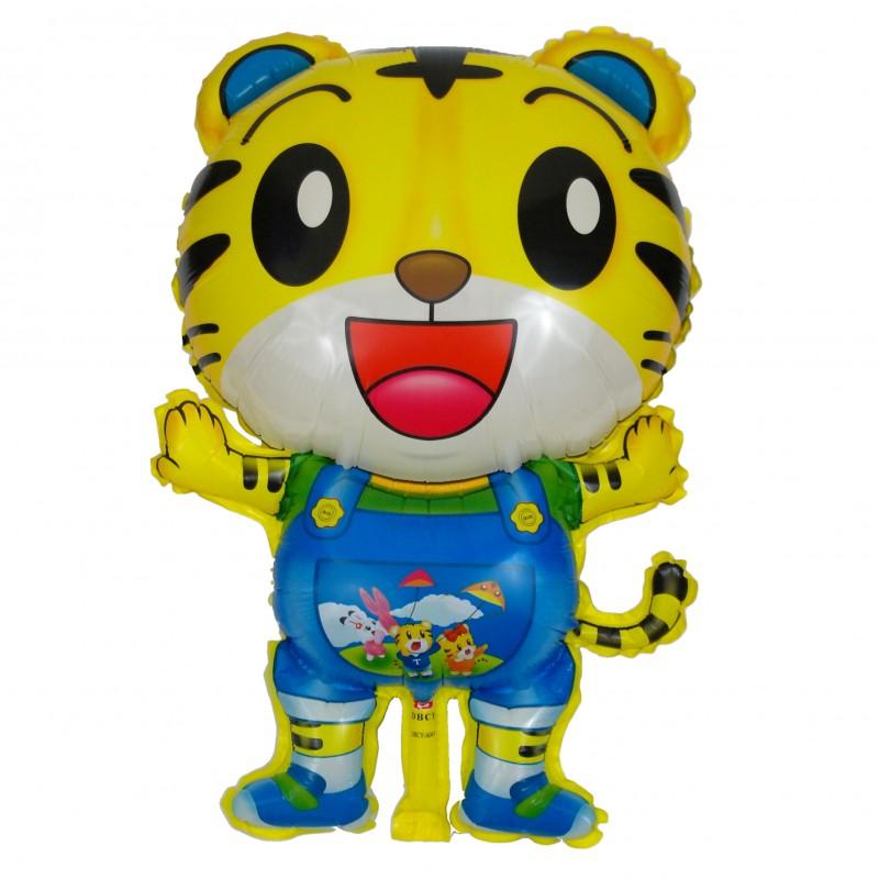 Тигр стоячий синий Фигура Пленка