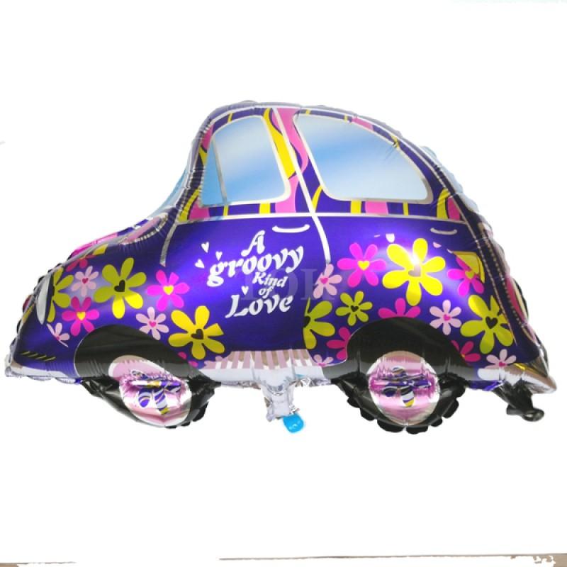 Машина фиолетовая Фигура Фольга