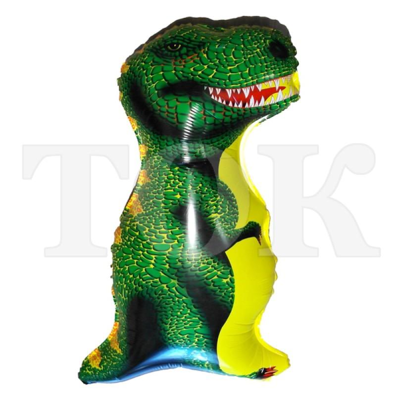 Динозавр зеленый Фигура Пленка