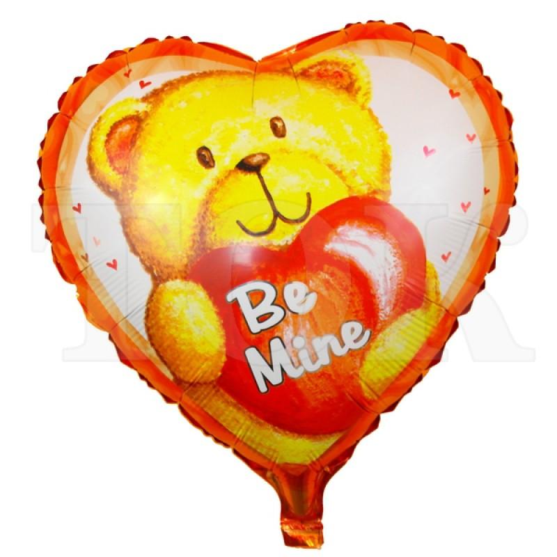 """Сердце """"Мишка Be Mine"""" 936-25"""