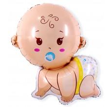Малыш мальчик 5 Фигура Фольга
