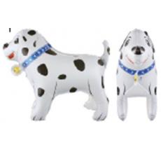 Собака далматинец стоячий Фигура Фольга