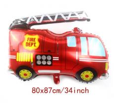Машина пожарная 2 Фигура Фольга