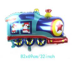 Машина паровоз 2 Фигура Фольга