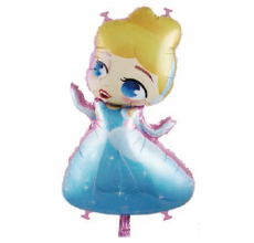 Принцесса 11 Фигура Фольга