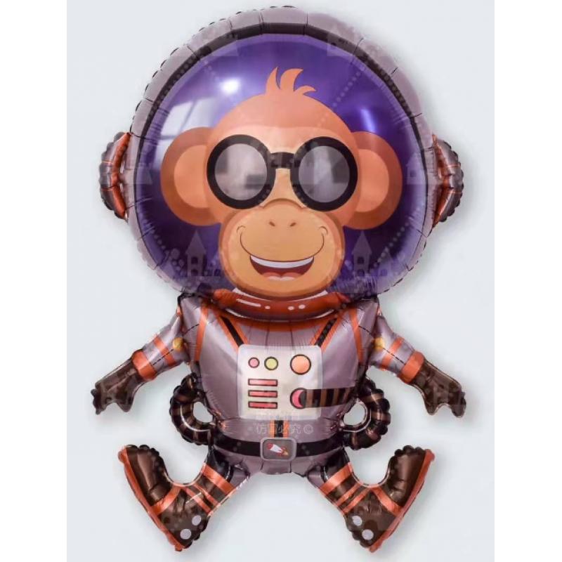 Космонавт обезьяна Фигура Фольга