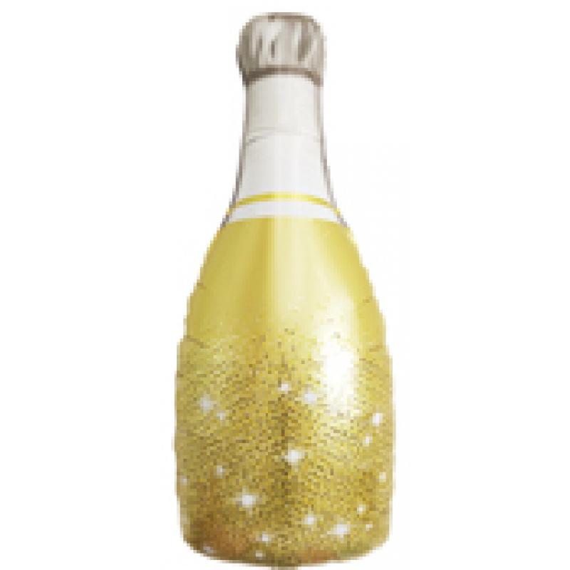 Бутылка золото