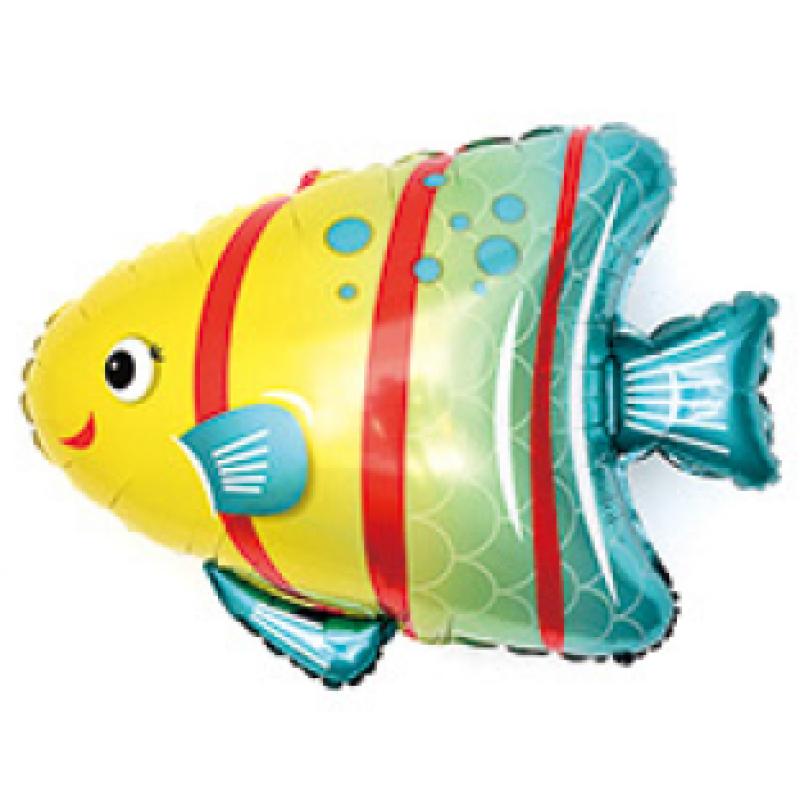 Рыбка с полосками под палочку
