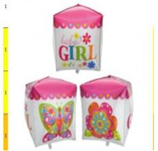 Куб Девочка Фигура Фольга