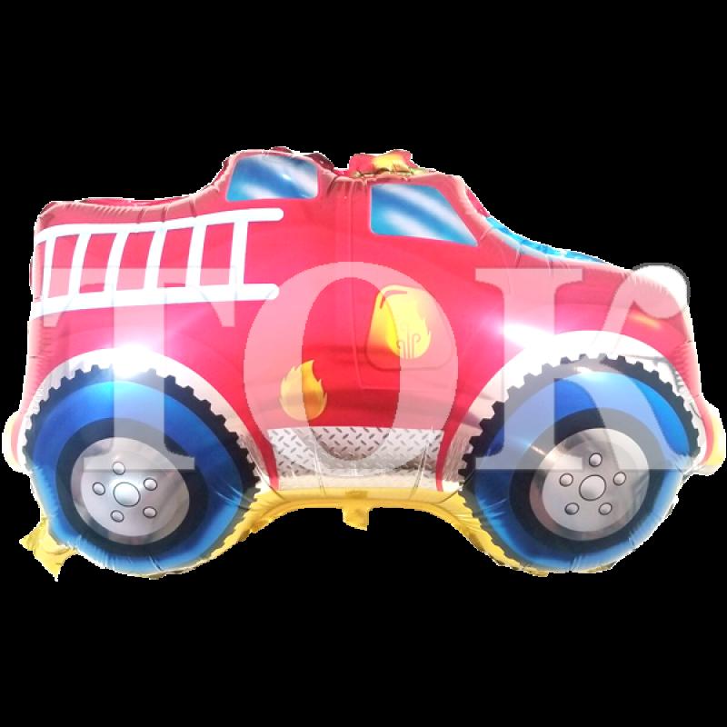 Машина пожарная Фигура Фольга
