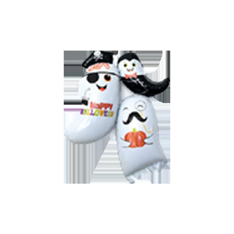 Семья призраков Фигура Фольга