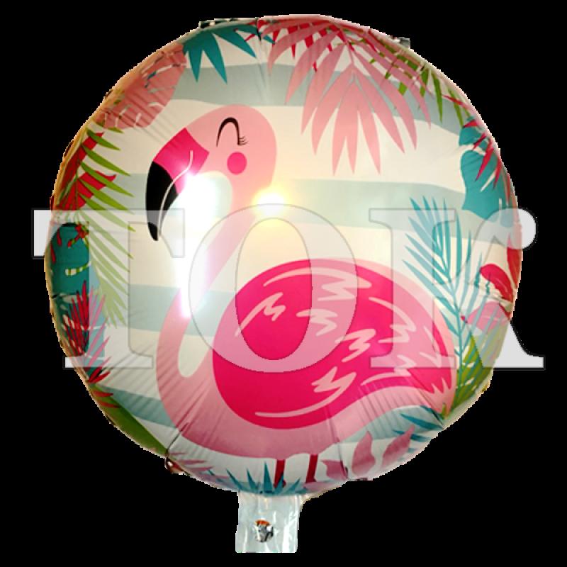 Фламинго розовый Таблетка Фольга