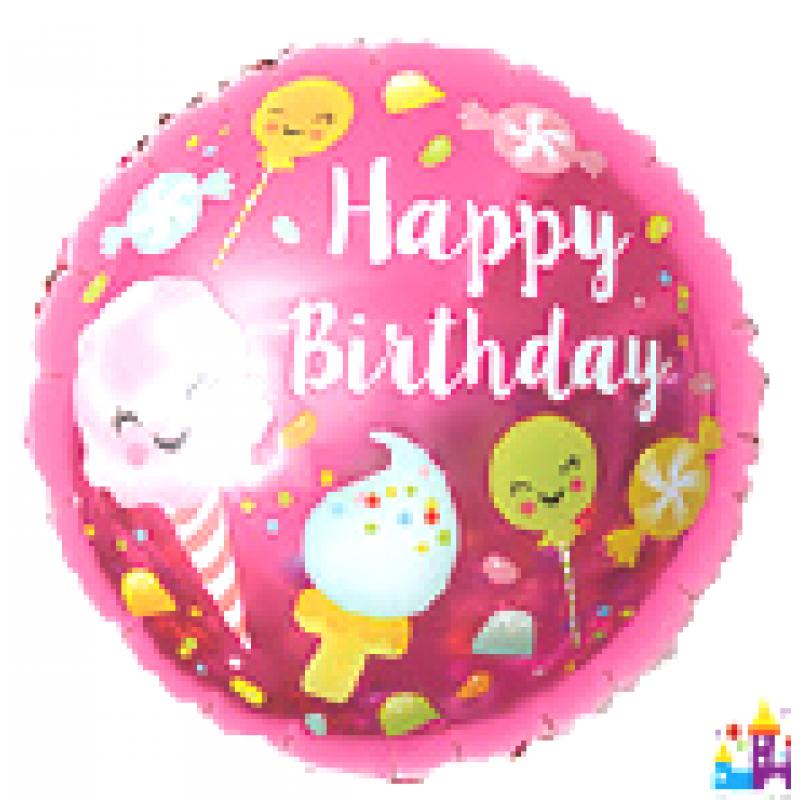 """Happy Birthday""  Таблетка Фольга - 302"