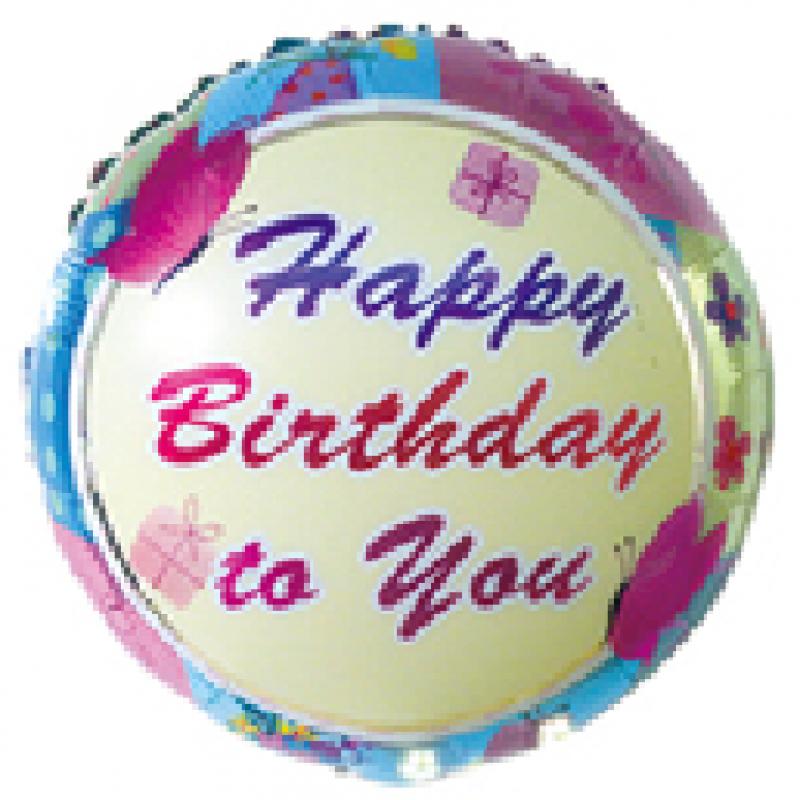 """Happy Birthday""  Таблетка Фольга - 401"