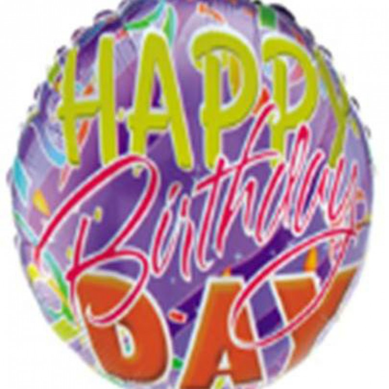 """Happy Birthday""  Таблетка Фольга - 4"