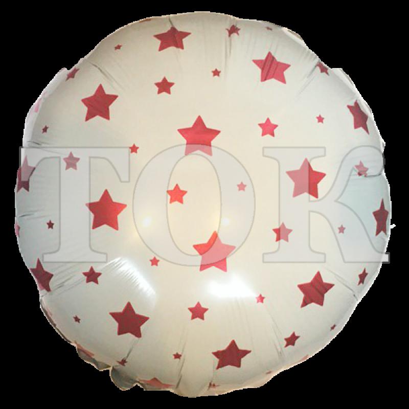 Белый Шарик С Красными Звездами Таблетка Фольга