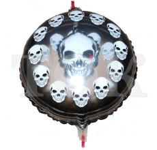 Череп шарик в шарике Таблетка Фольга