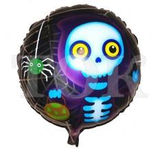 Хеллоуин скелет  Таблетка Фольга
