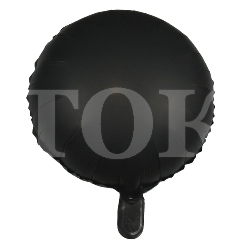 Однотонный перламутр Таблетка Фольга черный
