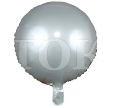 Однотонный перламутр Таблетка Фольга светло-серый