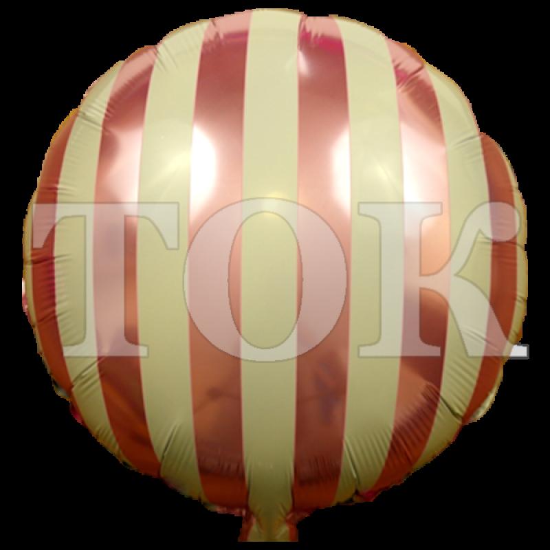Вертикальная полоска розовый Таблетка Фольга