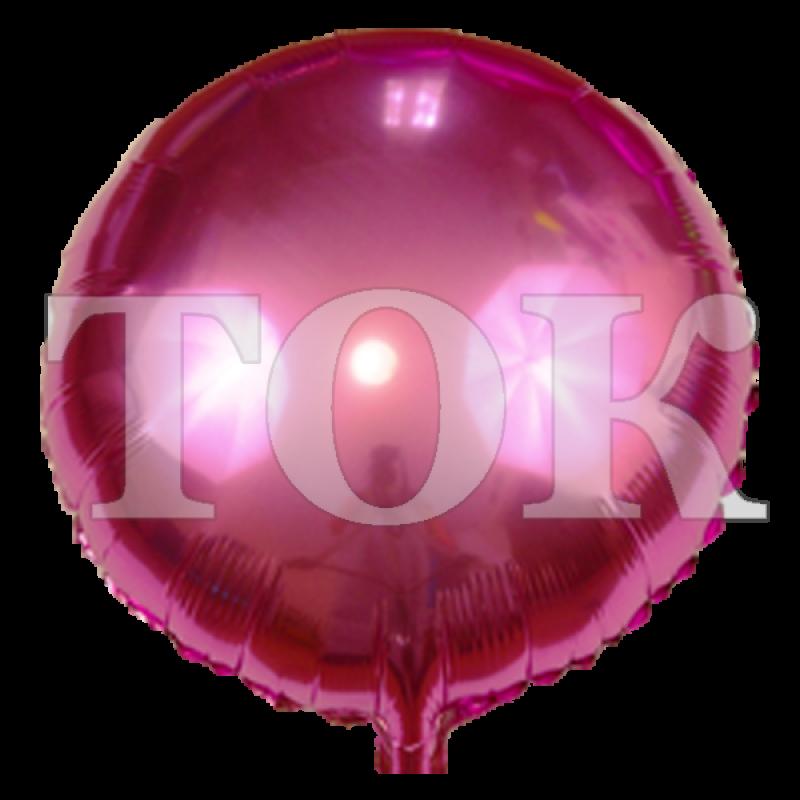 однотонный темно-розовый Таблетка Фольга