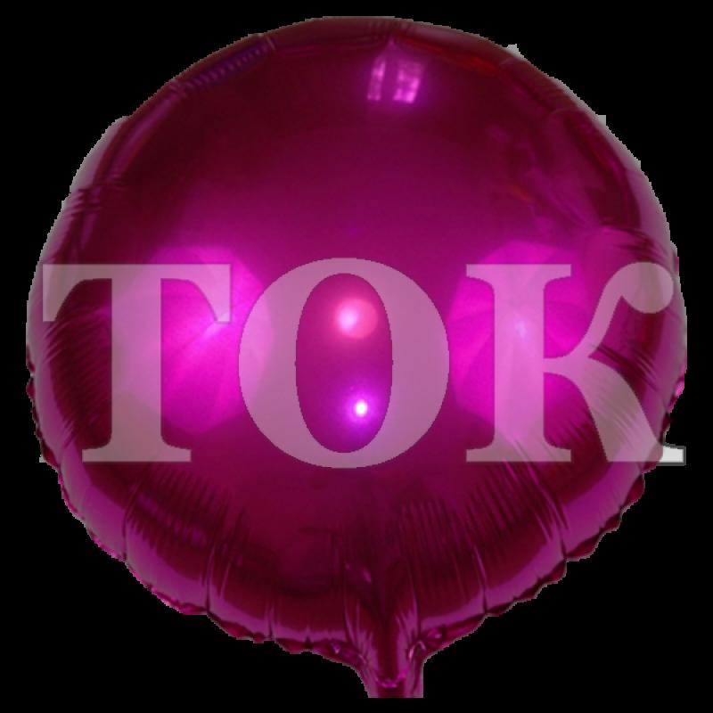 однотонный малиновый Таблетка Фольга