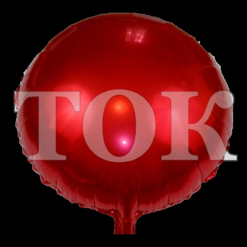 однотонный красный Таблетка Фольга