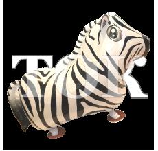 Шар ходячий зебра