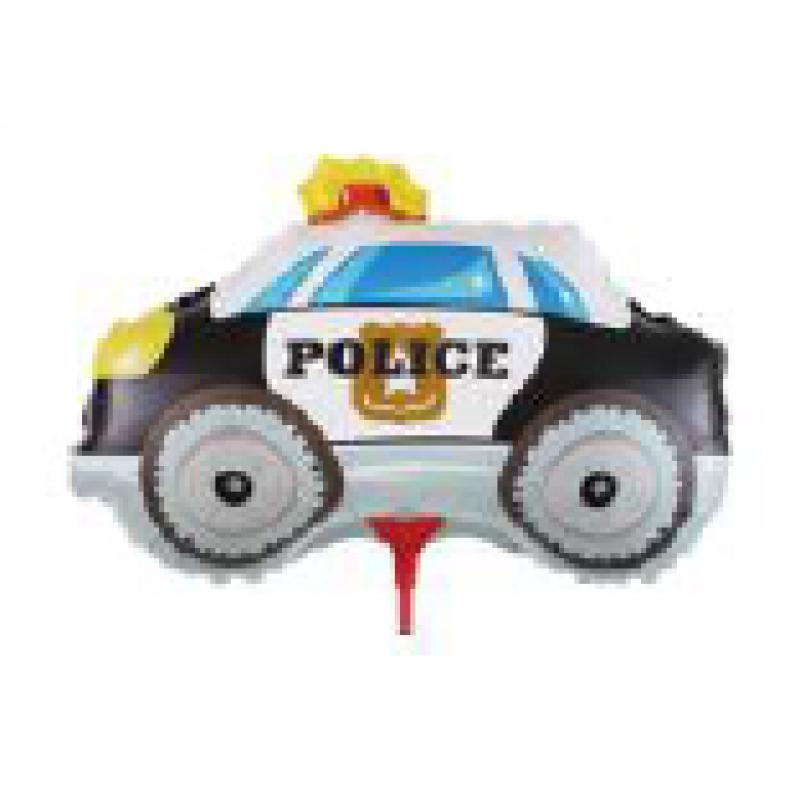 Машина полицейская Фигура Палочка Большая Пленка