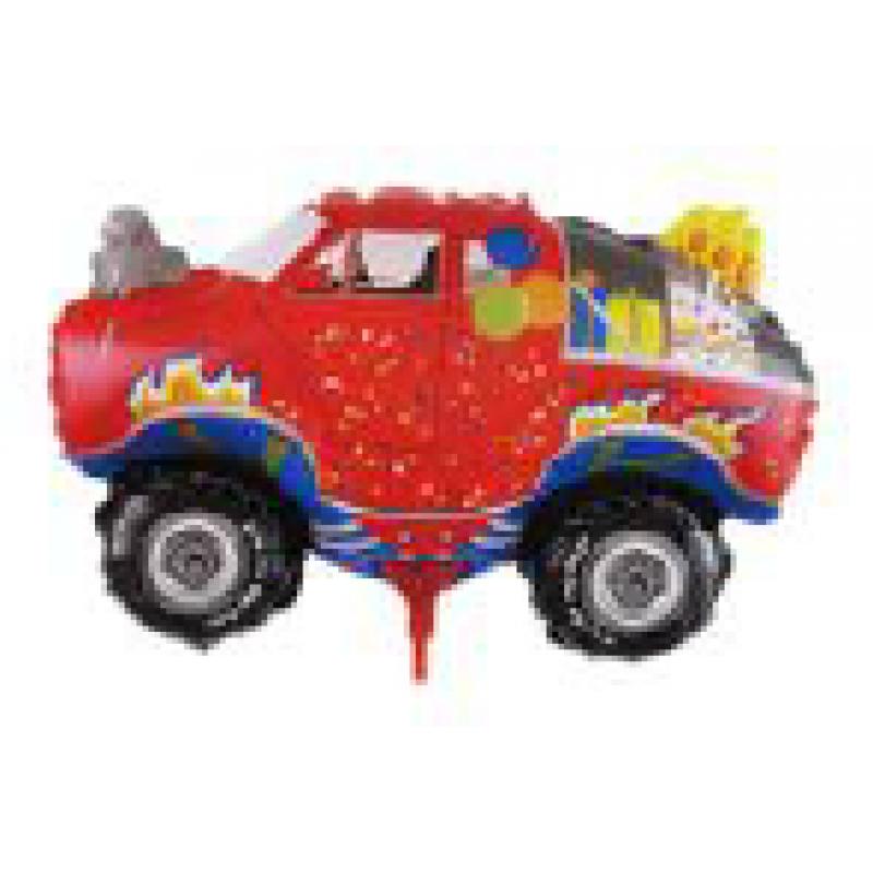 Машина джип пожарный Фигура Палочка Большая Пленка