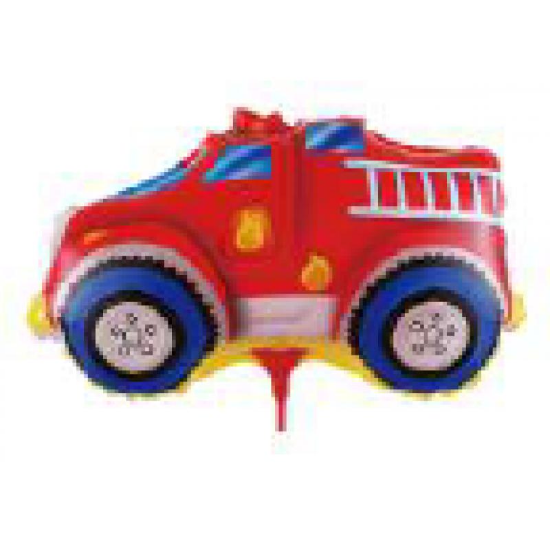 Машина пожарная Фигура Палочка Большая Пленка