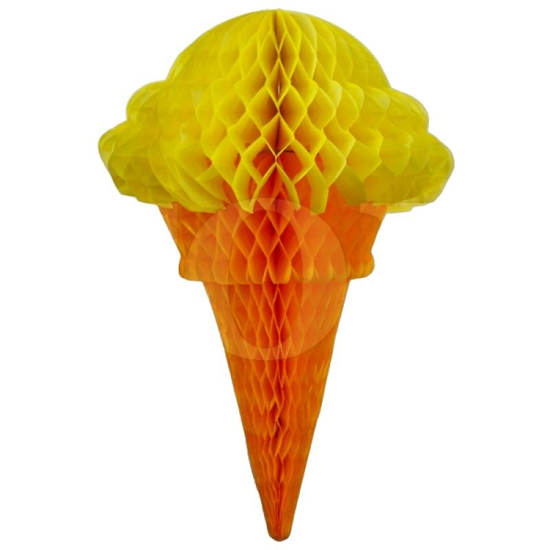 "Гирлянда ""Мороженное"" цвет желтый № 0923-12"