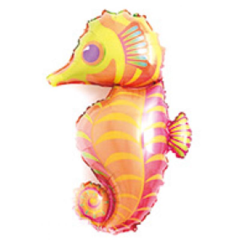 Морской конек под палочку Фигура Фольга