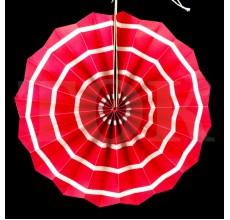 Веер № 0924-65   20 см. розовый