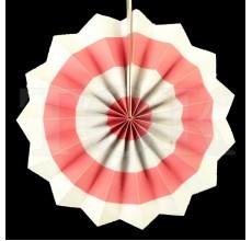 Веер № 0924-71   20 см. светло-розовый