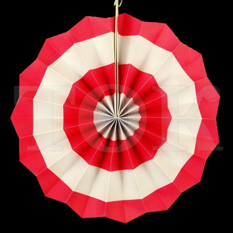 Веер № 0924-71   20 см. розовый