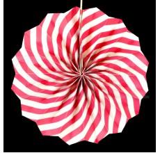Веер № 0924-77   20 см. розовый