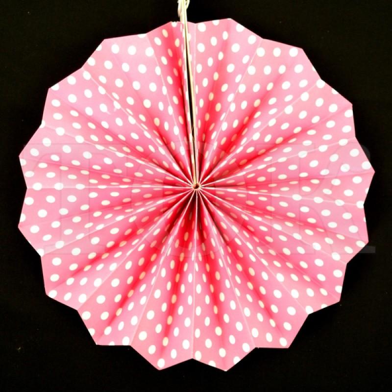 Веер № 0924-89   20 см. светло розовый