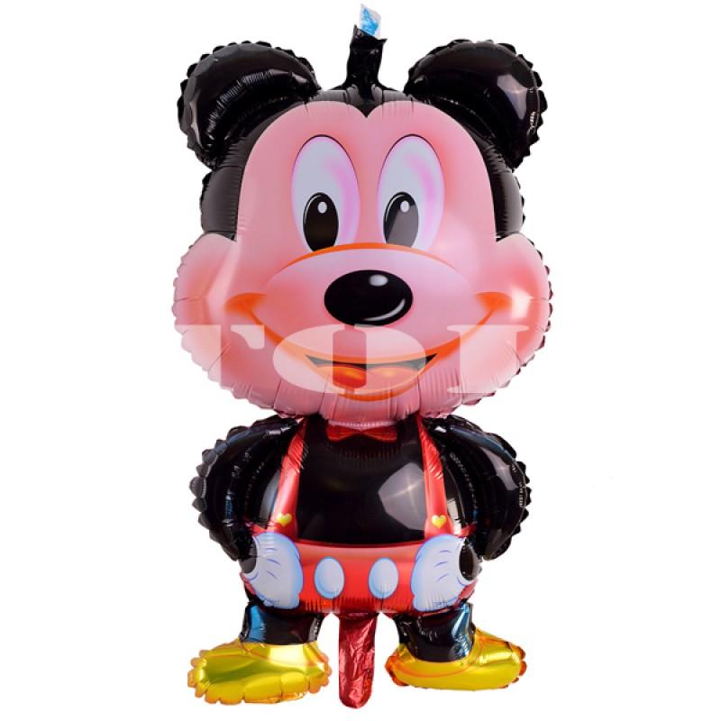 """""""Микки Маус мальчик большой стоячий"""" в красных штанах Фигура Фольга"""
