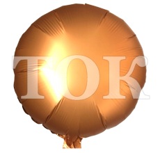 Однотонный перламутр Таблетка Фольга абрикос