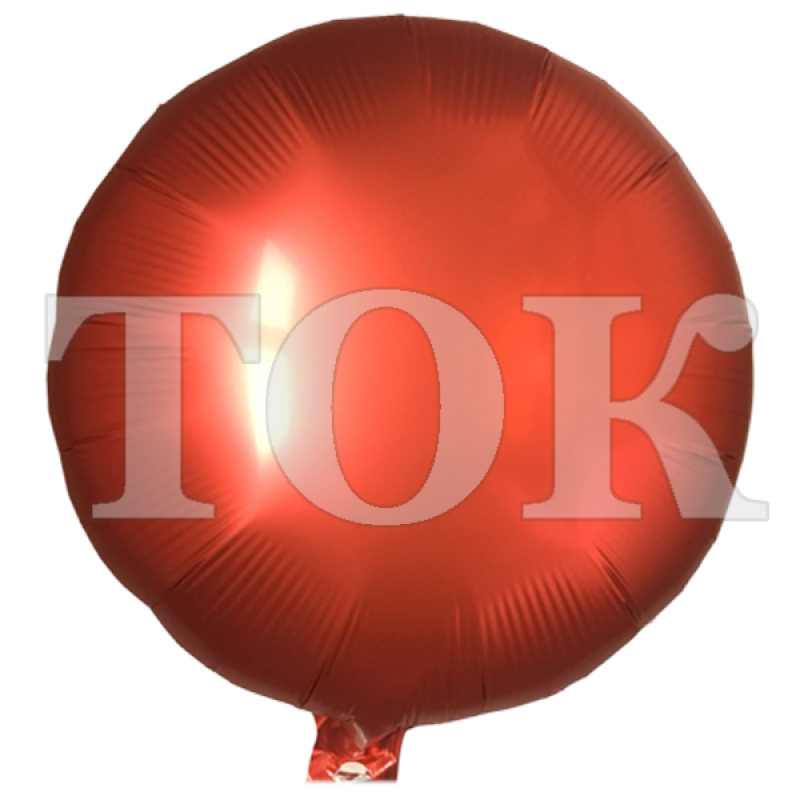 Однотонный перламутр Таблетка Фольга красный