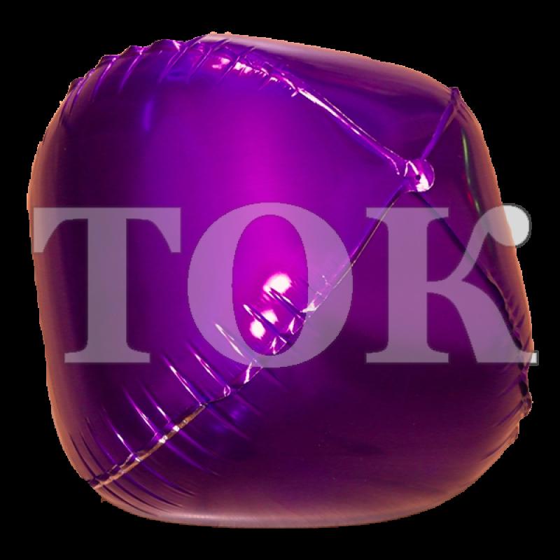 Шар сфера фольга фиолетовый