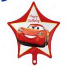 Звезда Happy Birthday Тачка